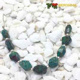 Chrysocolla Natural Ketting