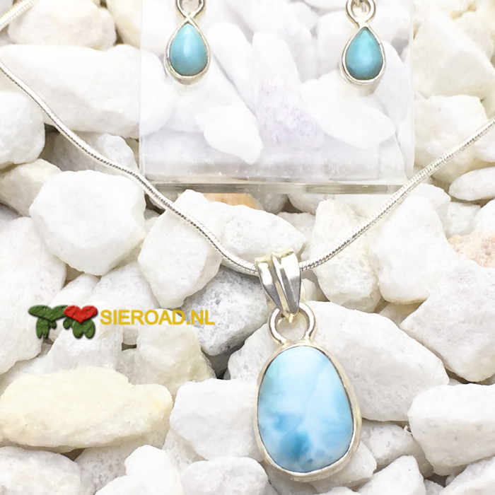Larimar Naturel Set